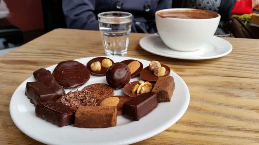 Chocolate belga, Bruselas