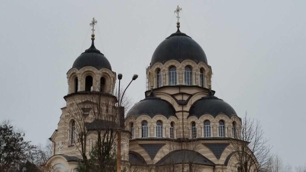 Iglesias Ortodoxas Aparición de la Santísima Virgen Vilnius