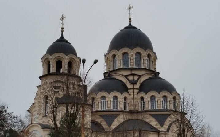 Iglesia Ortodoxa de la Aparición de la Santísima Virgen Vilnius