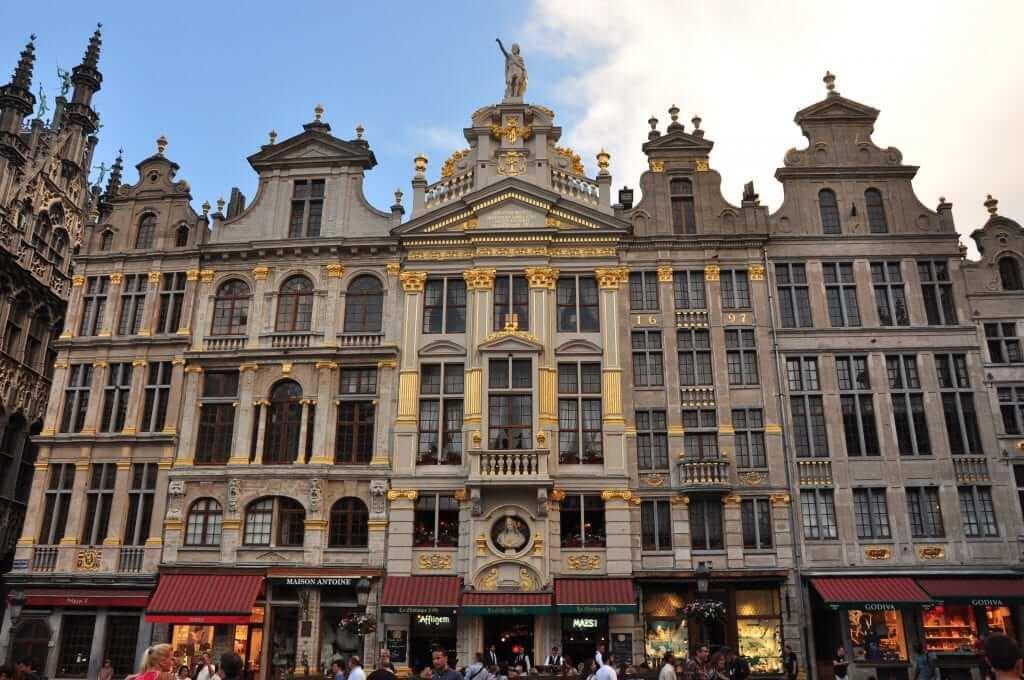 Bruselas con amigas Grand Place