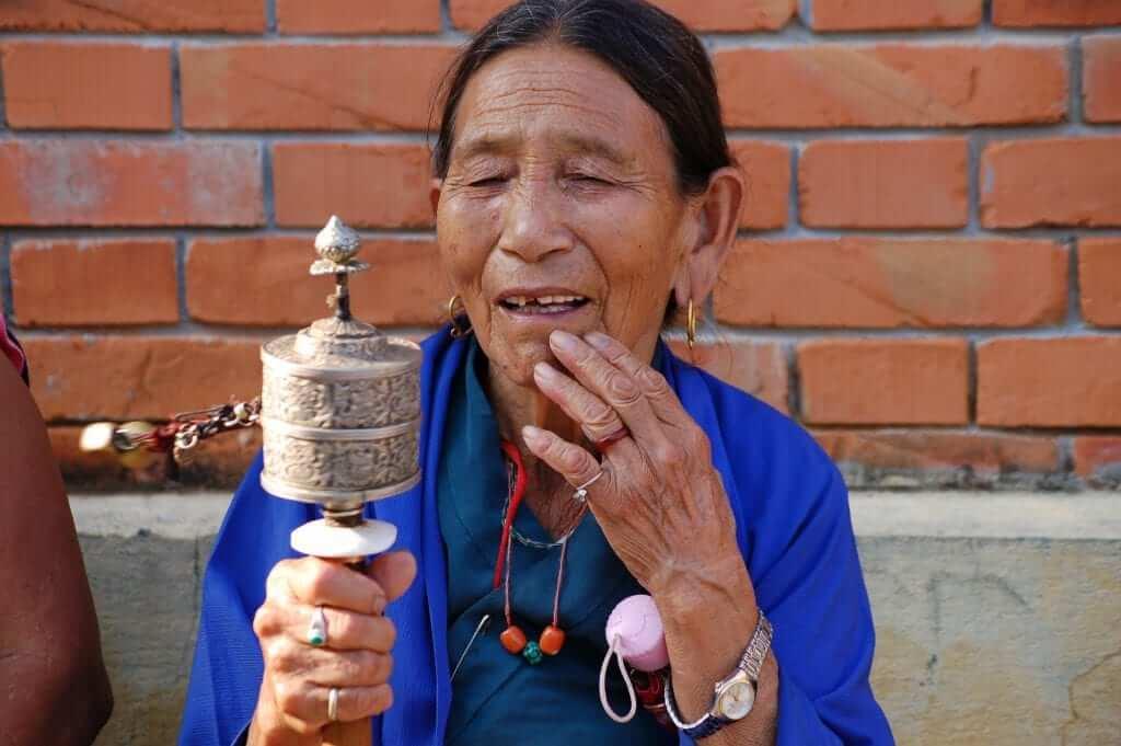 Nepal Ceremonia tibetana