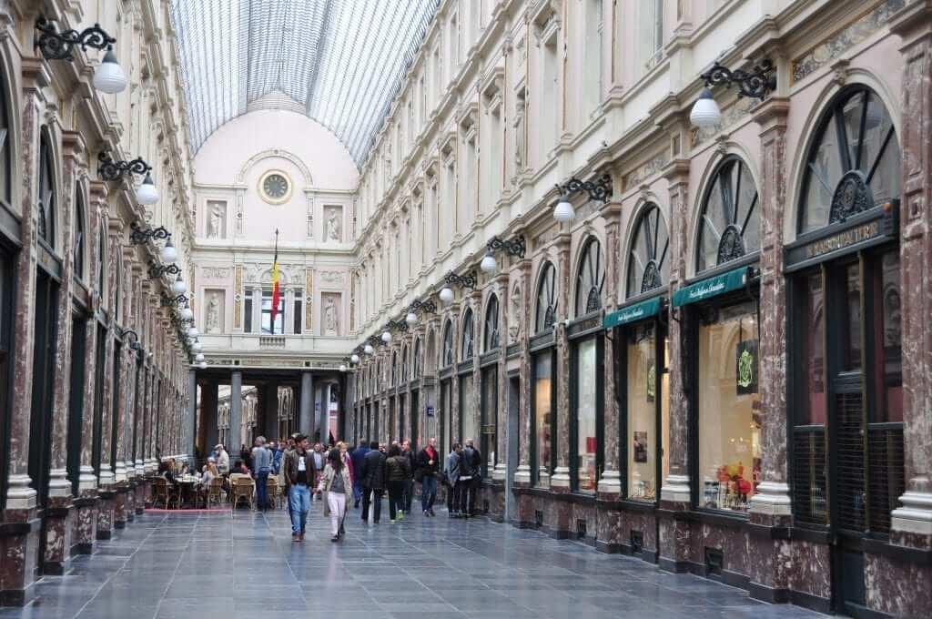 Galerías Sant Hubert Bruselas