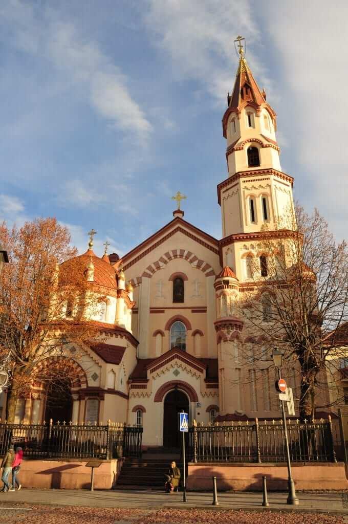 Iglesias ortodoxas de San Nicolás Vilnius