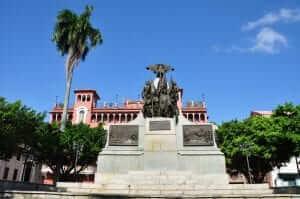 Plaza Bolivar, Ciudad de Panamá