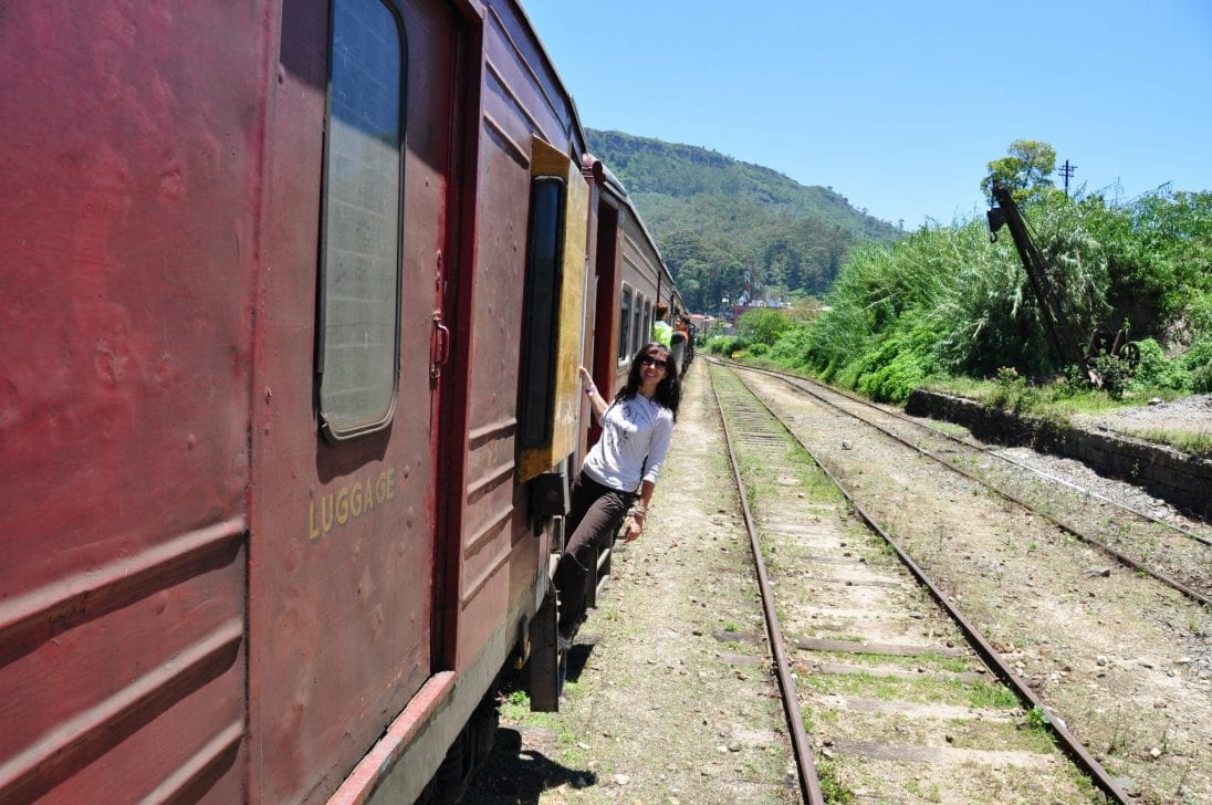 Viajes en tren Sri Lanka