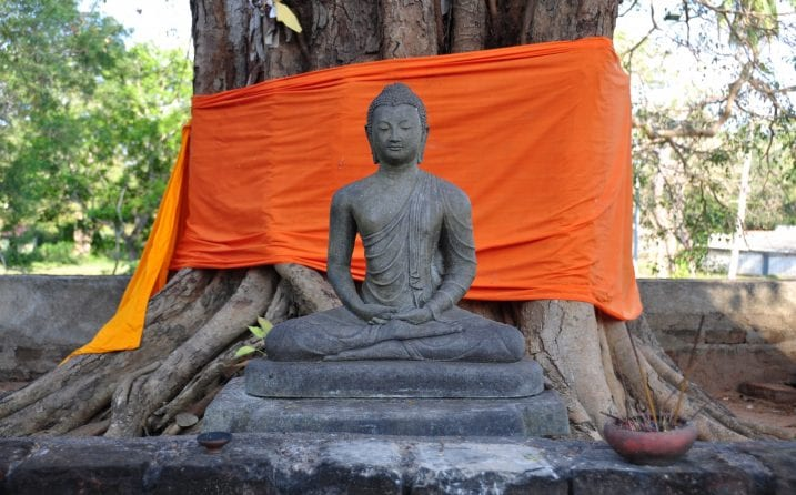 Buda en Anuradhapura, Sri Lanka
