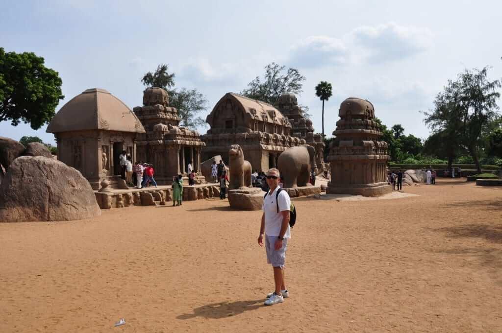 Mahabalipuram sur de India