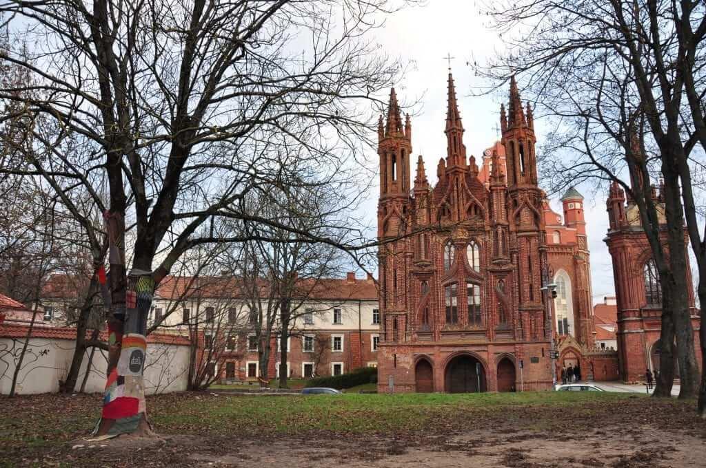 Iglesia de Santa Ana Vilnius