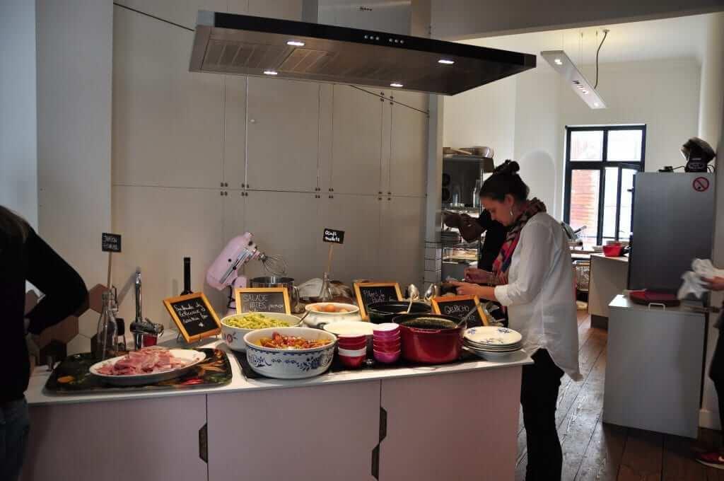 Comer en Bruselas Les Filles, Bruselas