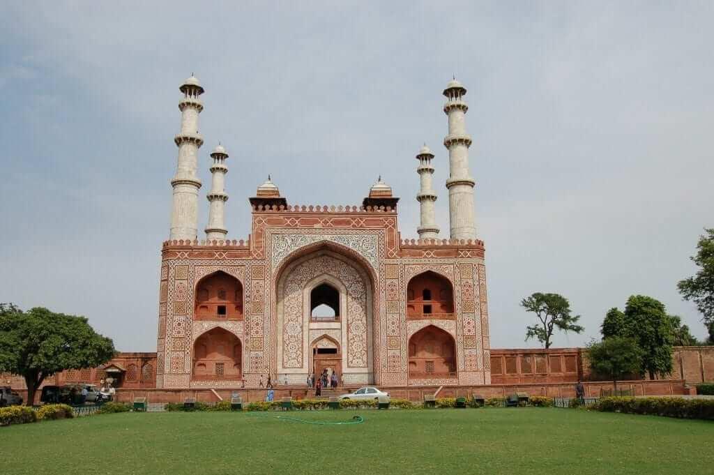 Agra Mausoleo de Akbar