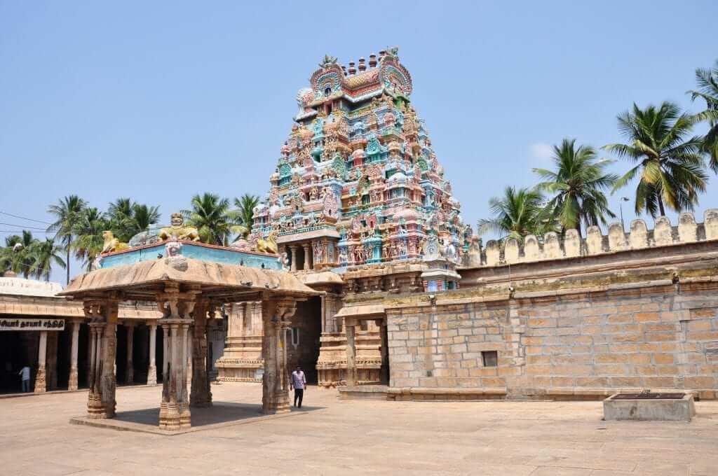 Tamil Nadu Templo de Sri Ranganathaswamy Trichy