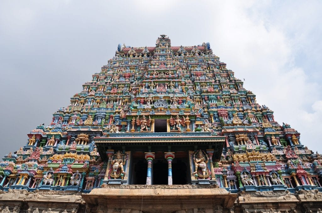 Tamil Nadu Templo de Sri Meenakshi Madurai