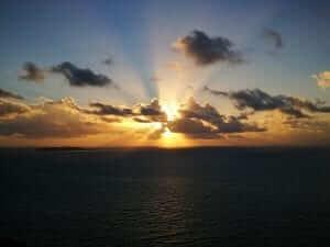 Y el sol se pone en Puerto Rico