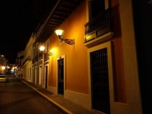 La noche en San Juan