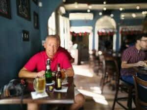 De cervezas en Ponce