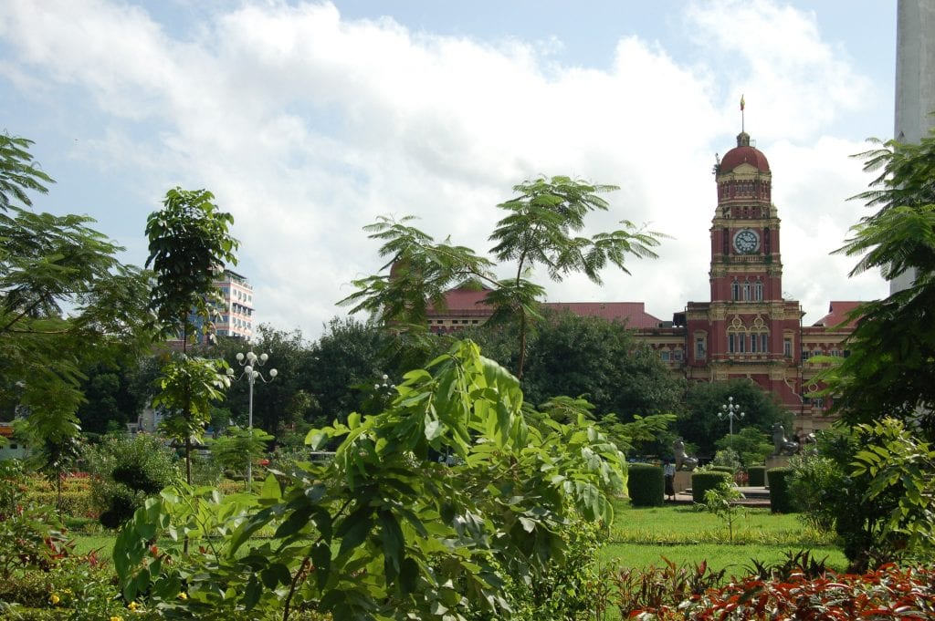 Yangón Barrio colonial