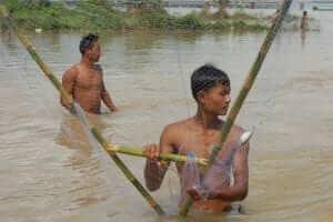 Pescadores en Ava