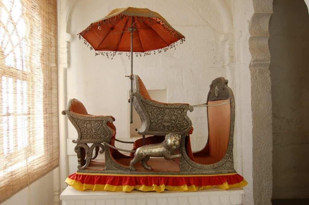 Fuerte de Jodhpur howdahs