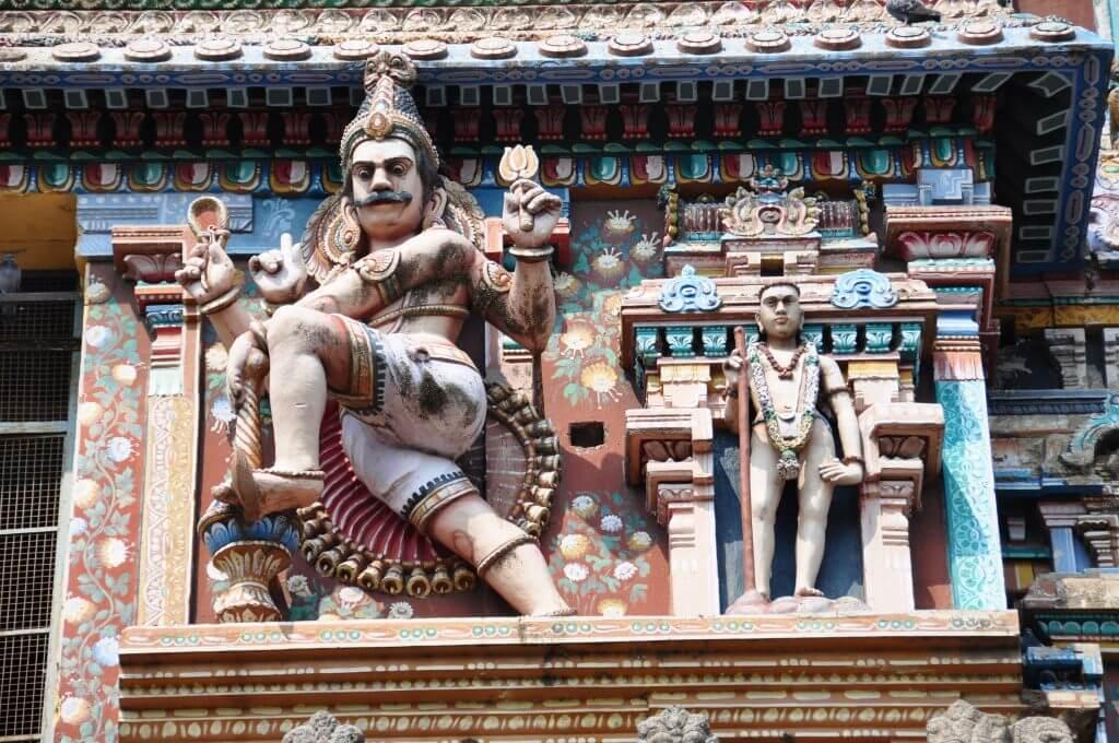 Templos hindúes Tamil Nadu