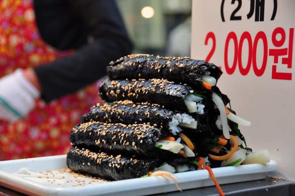 comer en corea del sur