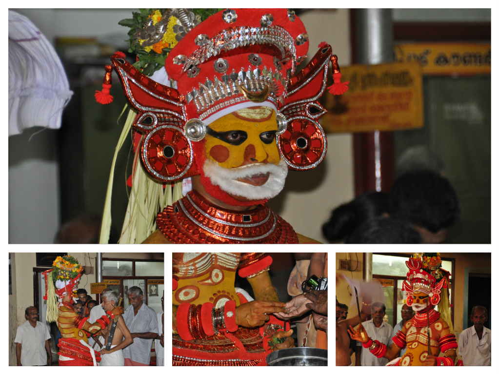 Ceremonia Theyyam