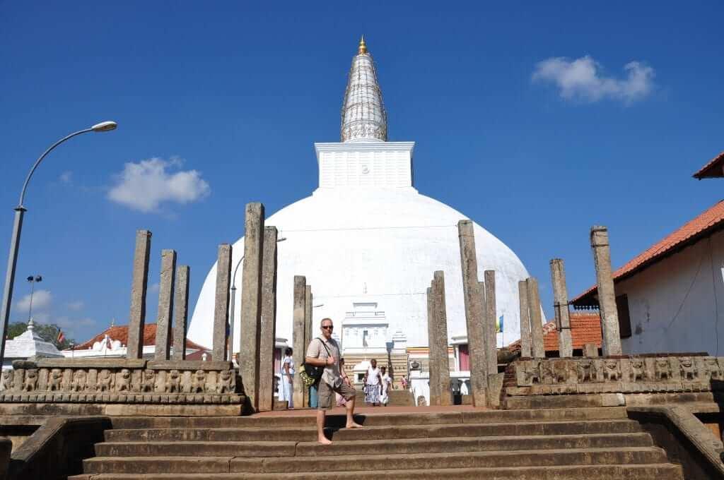 Anuradhapura dagoba Ruvanvelisaya