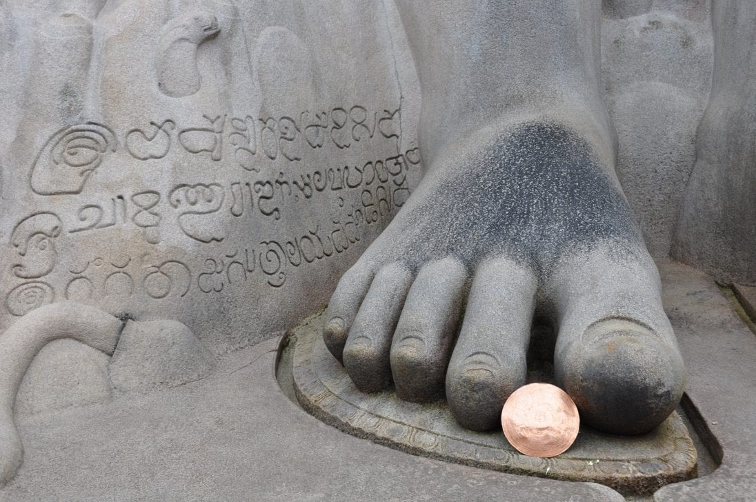 Sravanabelagola Karnataka India del Sur