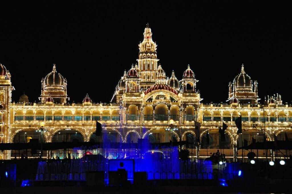 Mysore - Palacio real