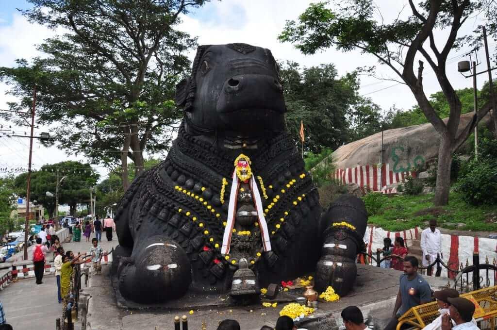 Mysore - Nandi Monte Chamundi