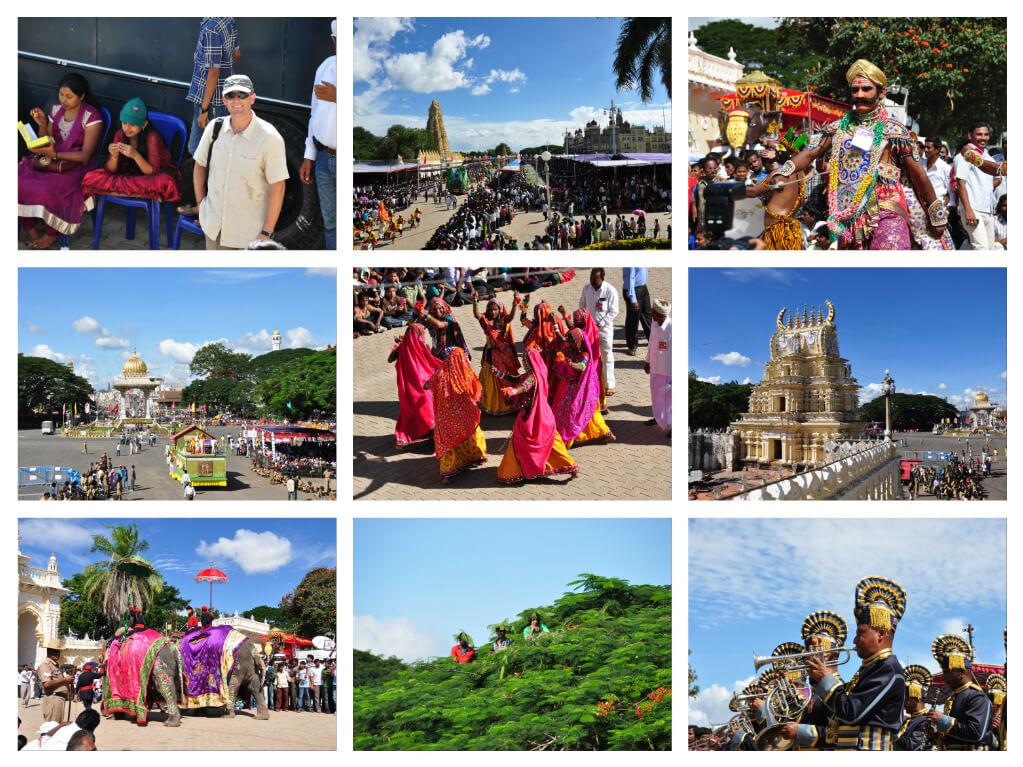 Mysore celebrando Dasara