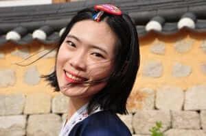 Joven coreana