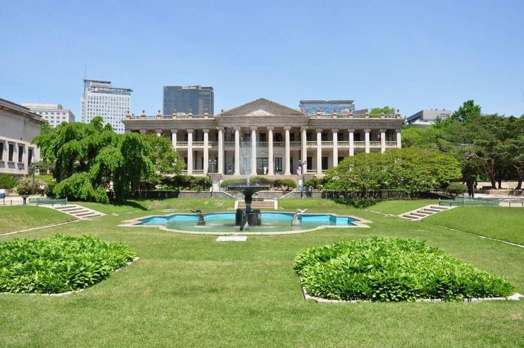 Palacios de Seúl Deoksugung