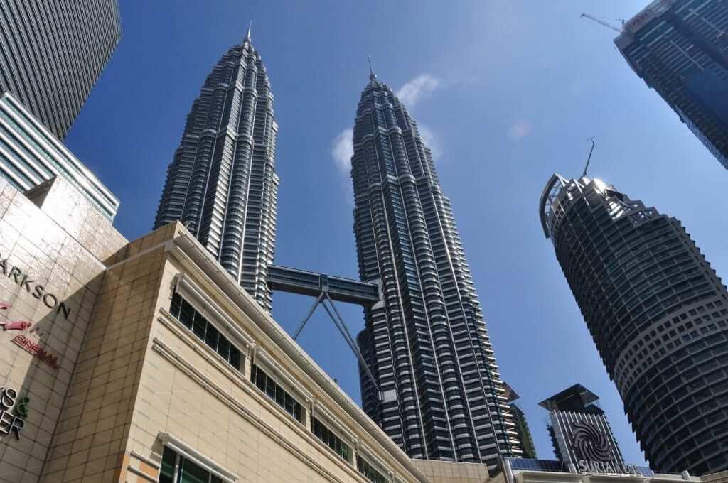Las Torres Petronas viajar a Malasia