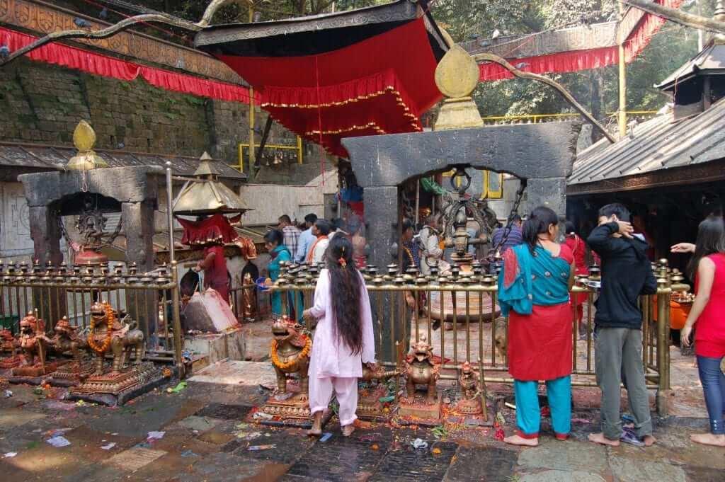 Valle de Katmandú Templo de Dakshinkali