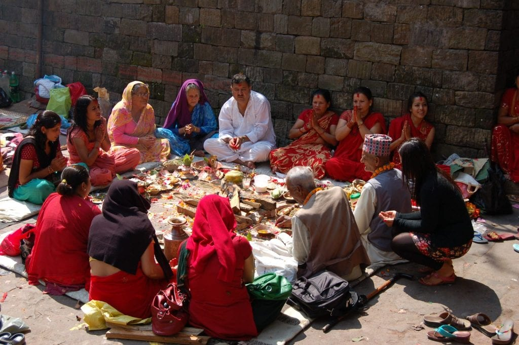 Valle de Katmandú Templo de Dakshinkali Nepal
