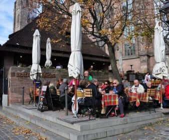 comer en Núremberg