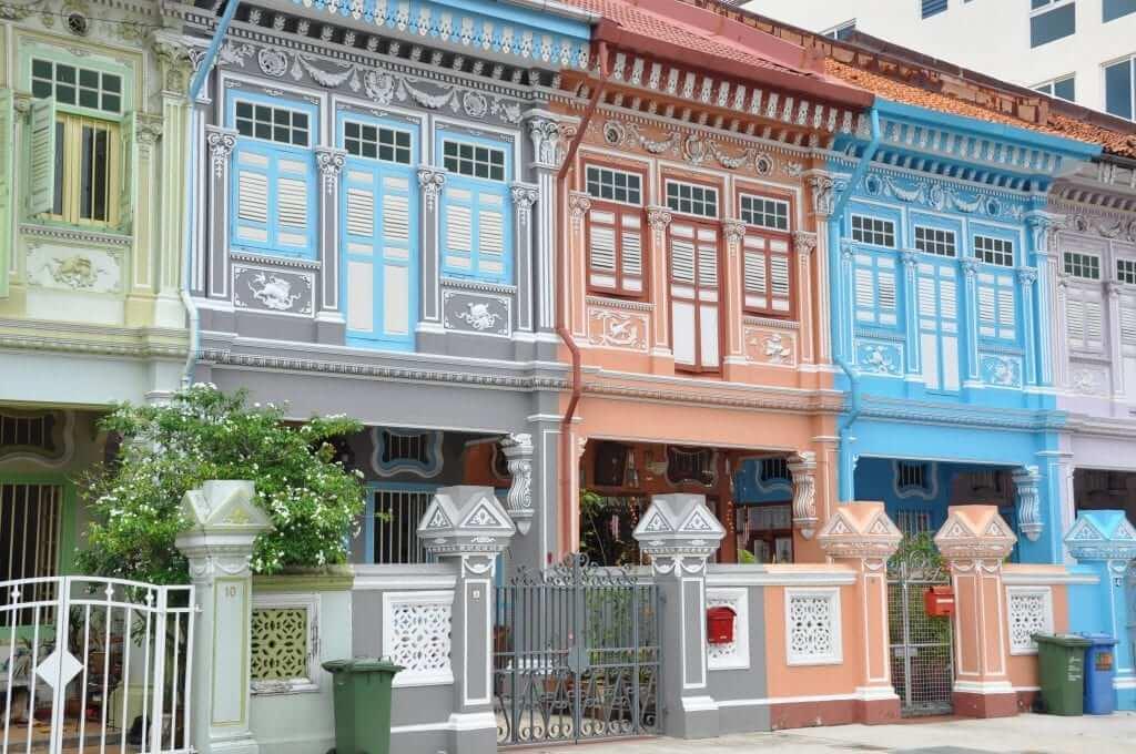 Shophouses de Malasia