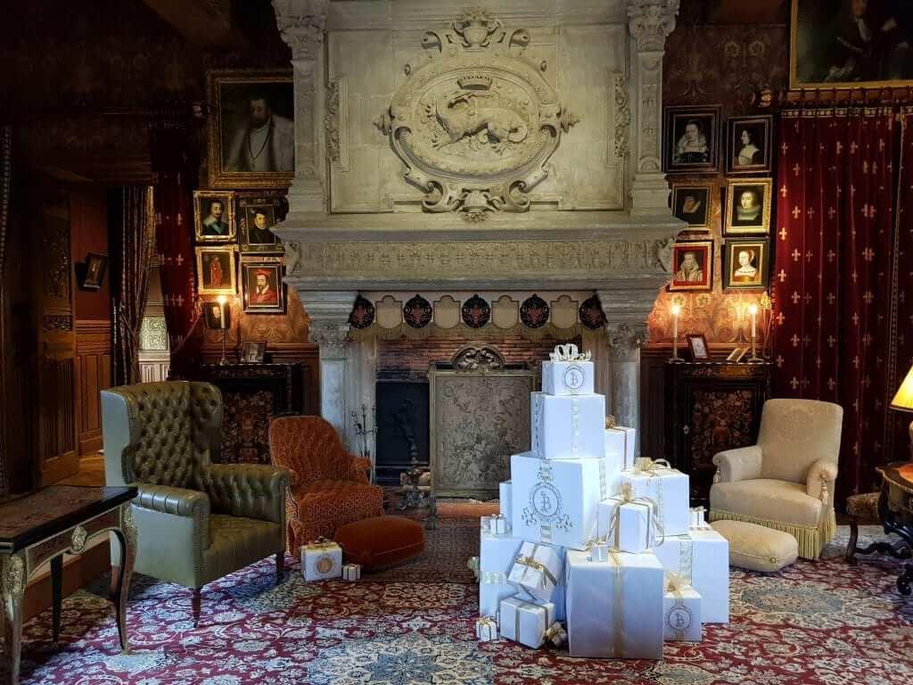 Castillos del Loira en Navidad Azay-le-Rideau