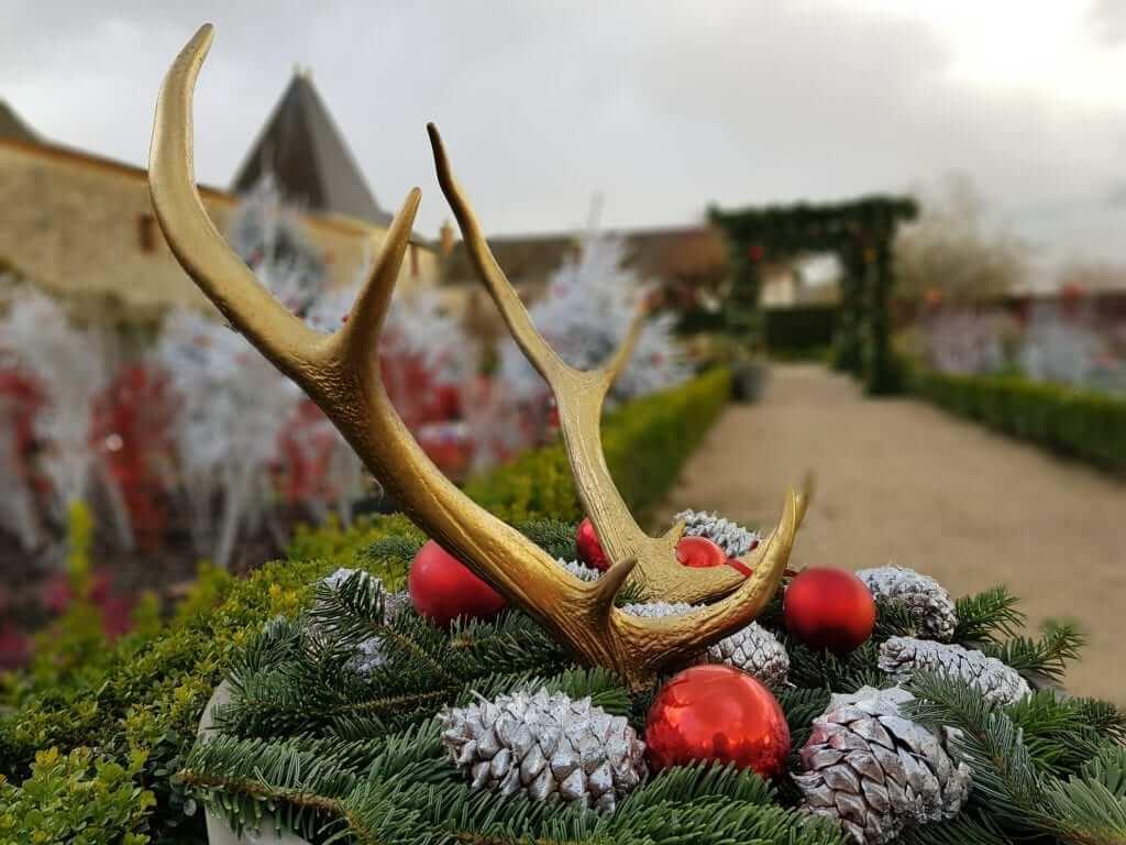 castillos del Loira en Navidad Cheverny