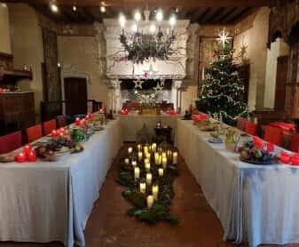 castillos del Loira en Navidad Langeais