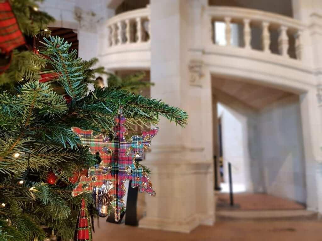 Castillos del Loira en Navidad Chambord