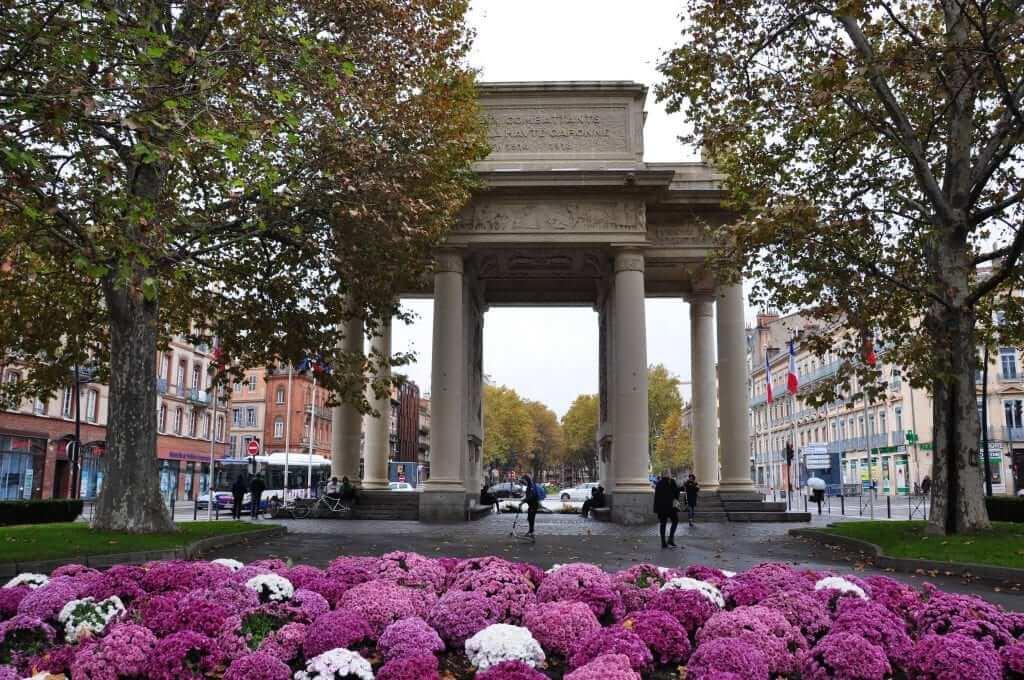 Que ver en Toulouse Monumento a los caídos