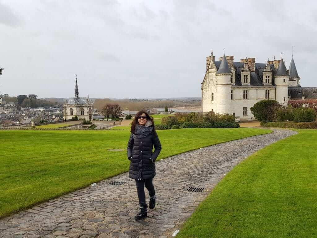 ruta por los castillos del Loira Amboise