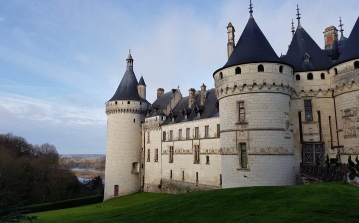 ruta por los castillos del Loira Chaumont-sur-Loire