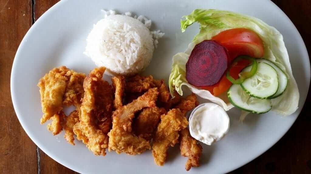 comer en panamá pollo frito