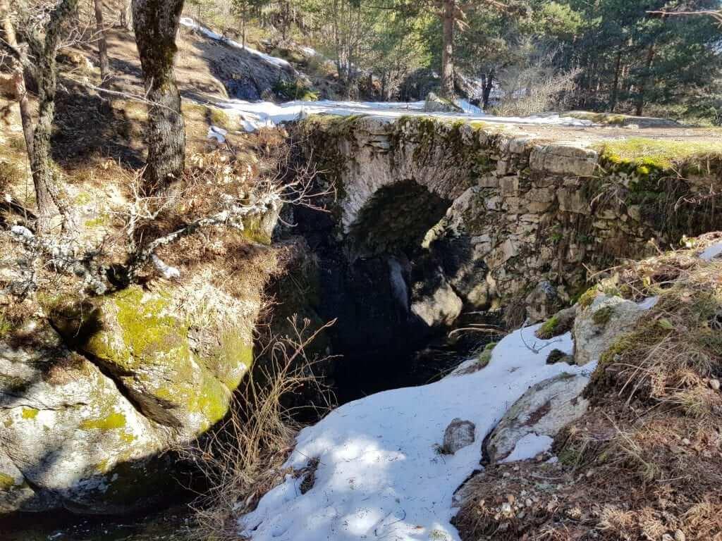 Fin de semana en rascafría Puente de la angostura