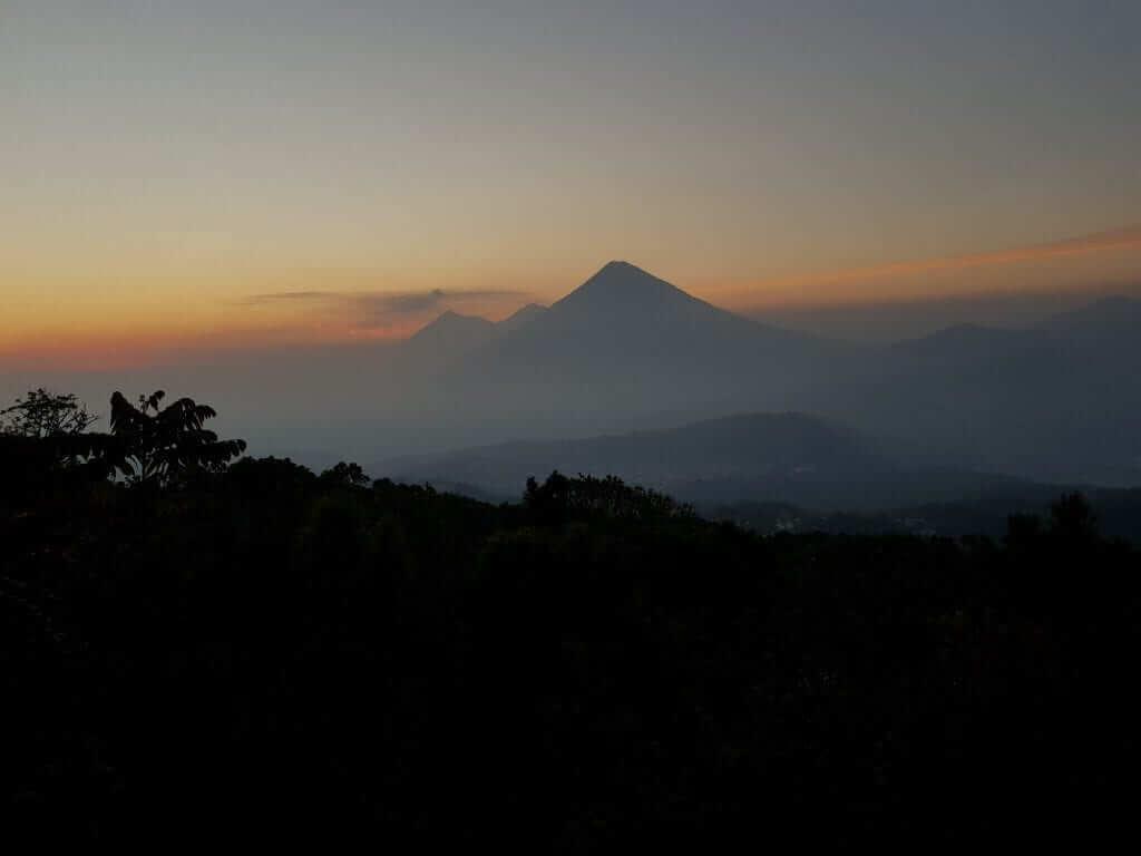 Pacaya y volcán Acatenango Guatemala