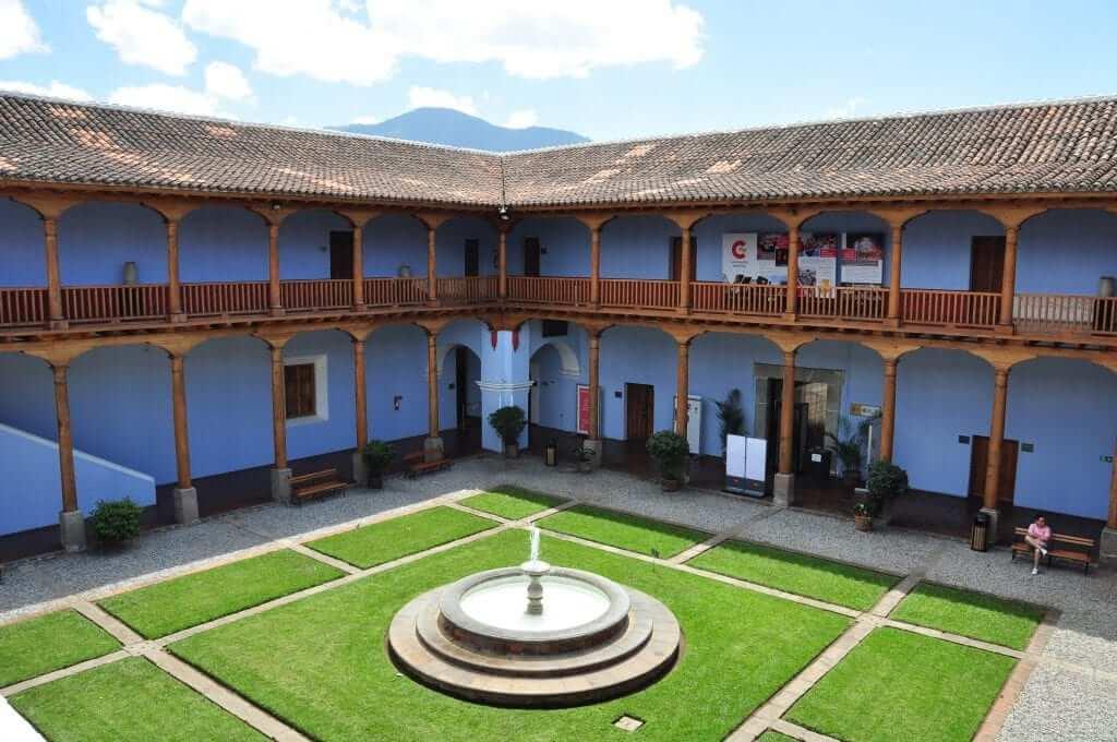 Antigua, colegio de la compañía, Guatemala