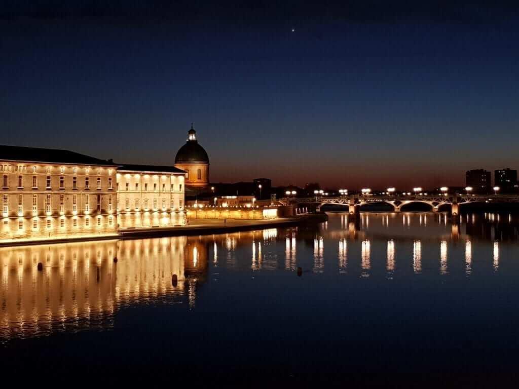 Toulouse atardecer
