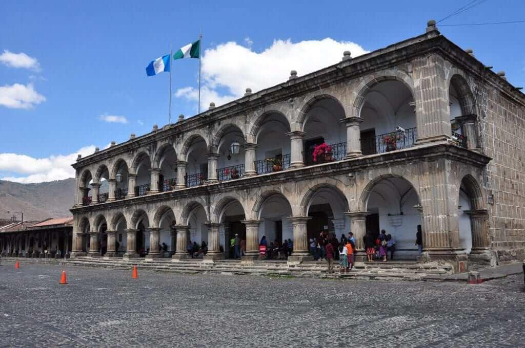 Antigua, Ayuntamiento, Parque Central